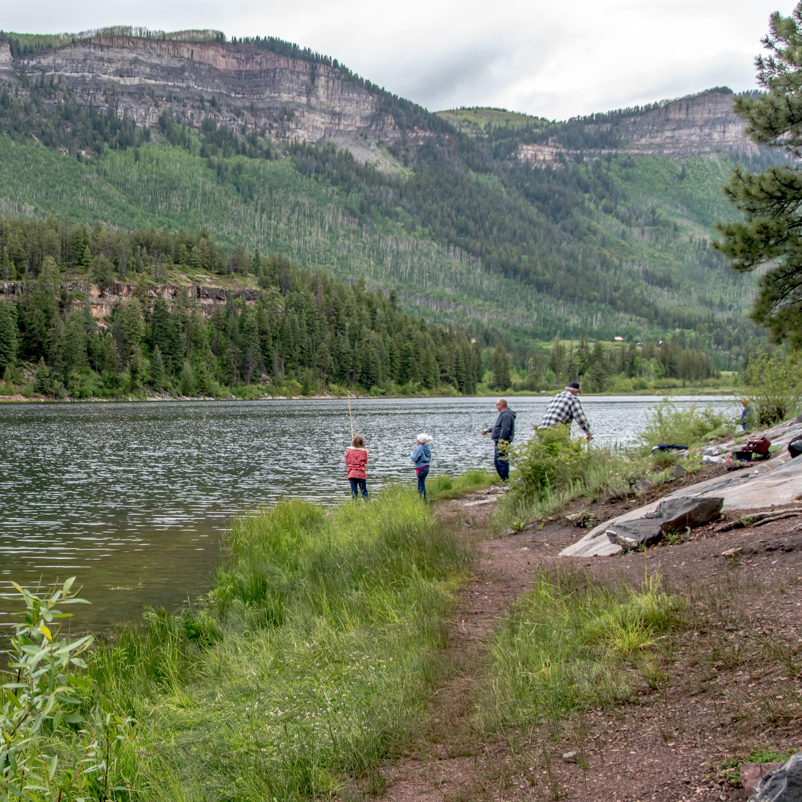 Haviland Lake Campground - San Juan National Forest - camping in Colorado