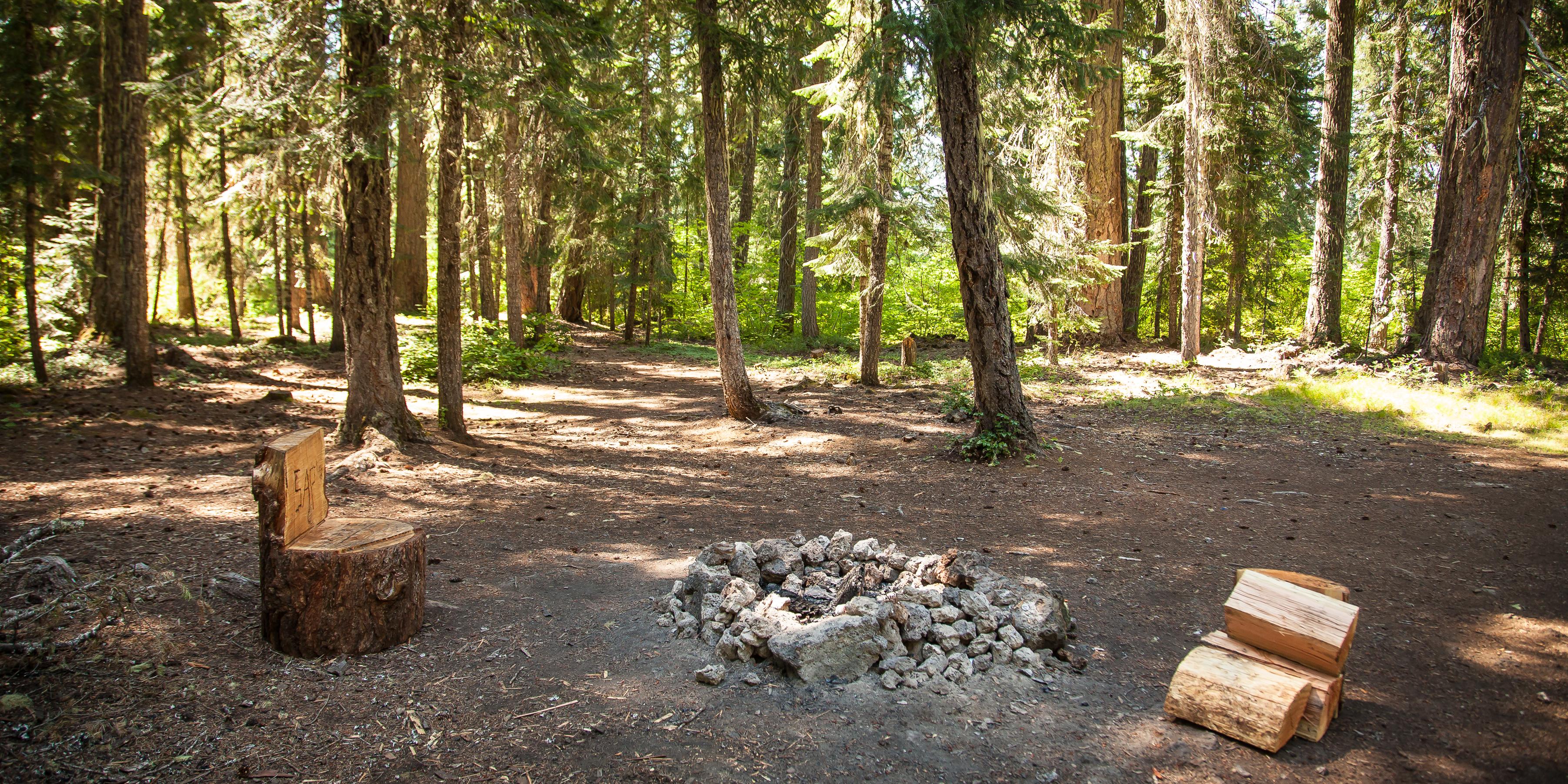 Fish lake campsites camping in oregon for Fish lake camping