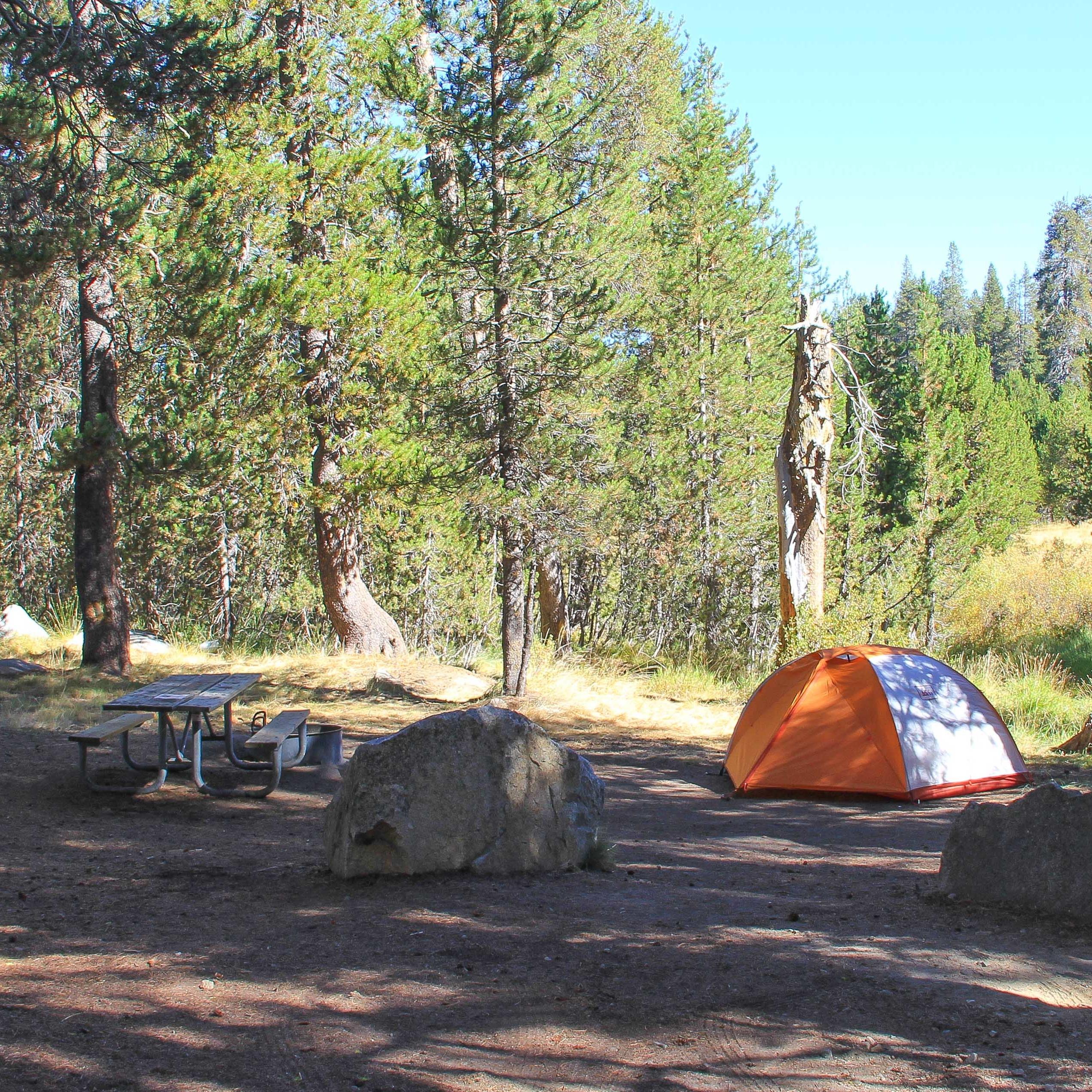 camping bridalveil creek group horse camp campground detailsdo