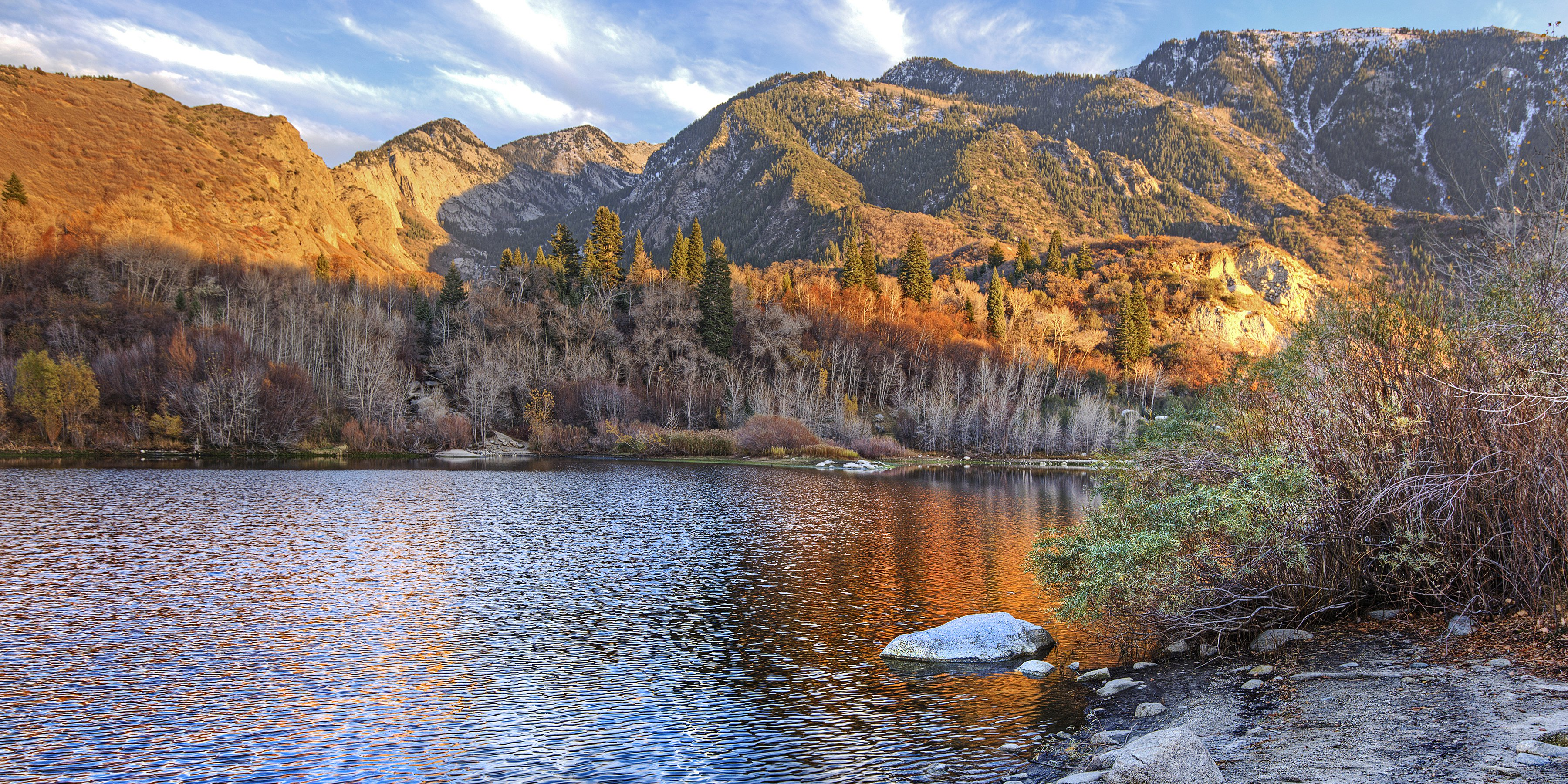 bells canyon trail hike - uinta-wasatch-cache national forest