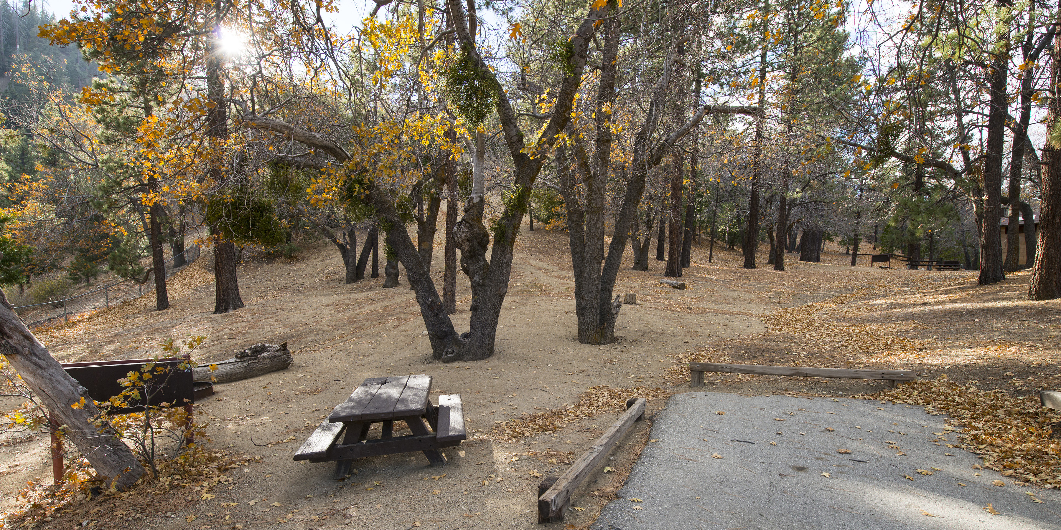 Lake Campground - Angeles National Forest, San Gabriel ...