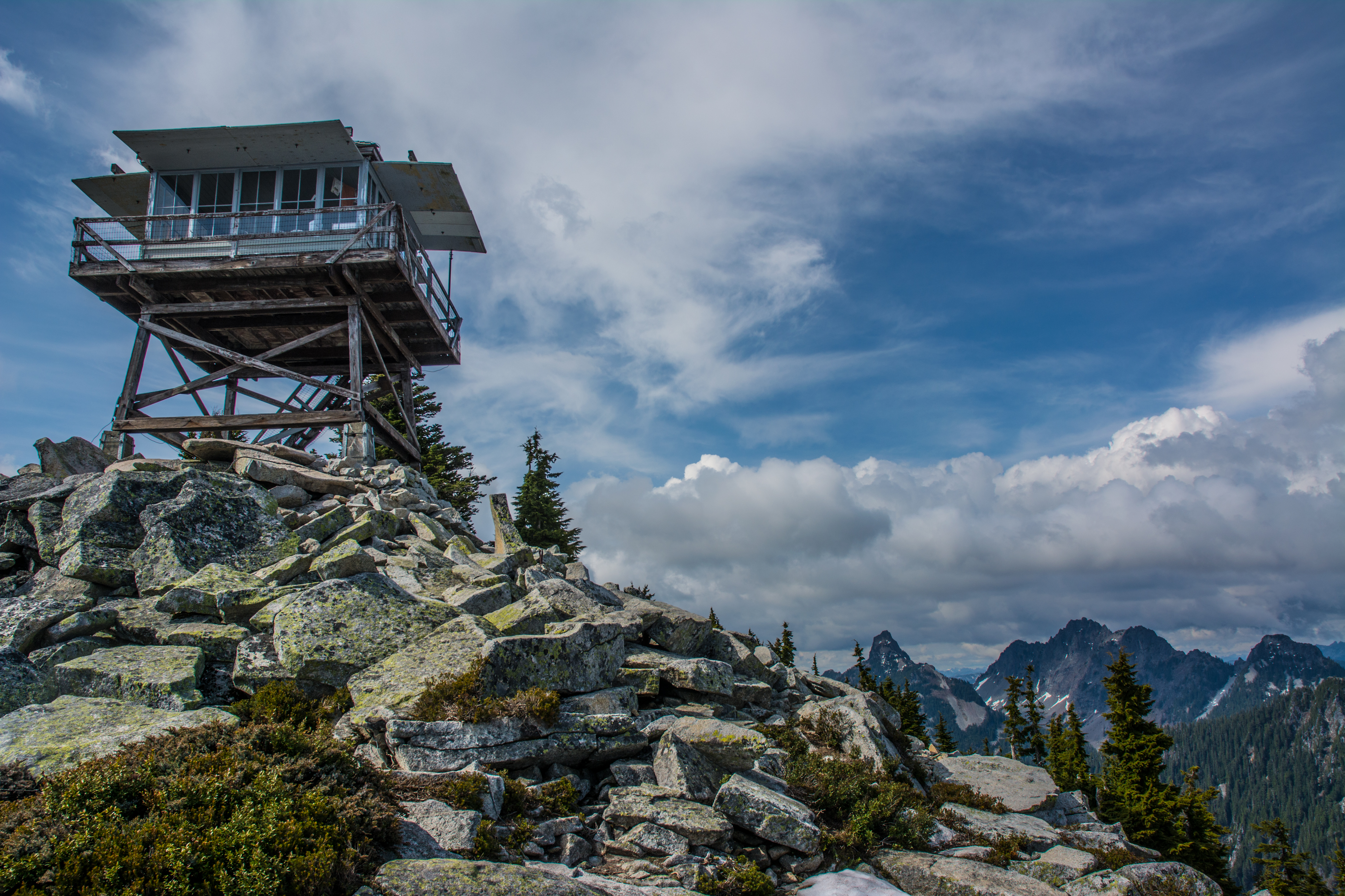 Granite Mountain Lookout Snoqualmie Pass Hiking In