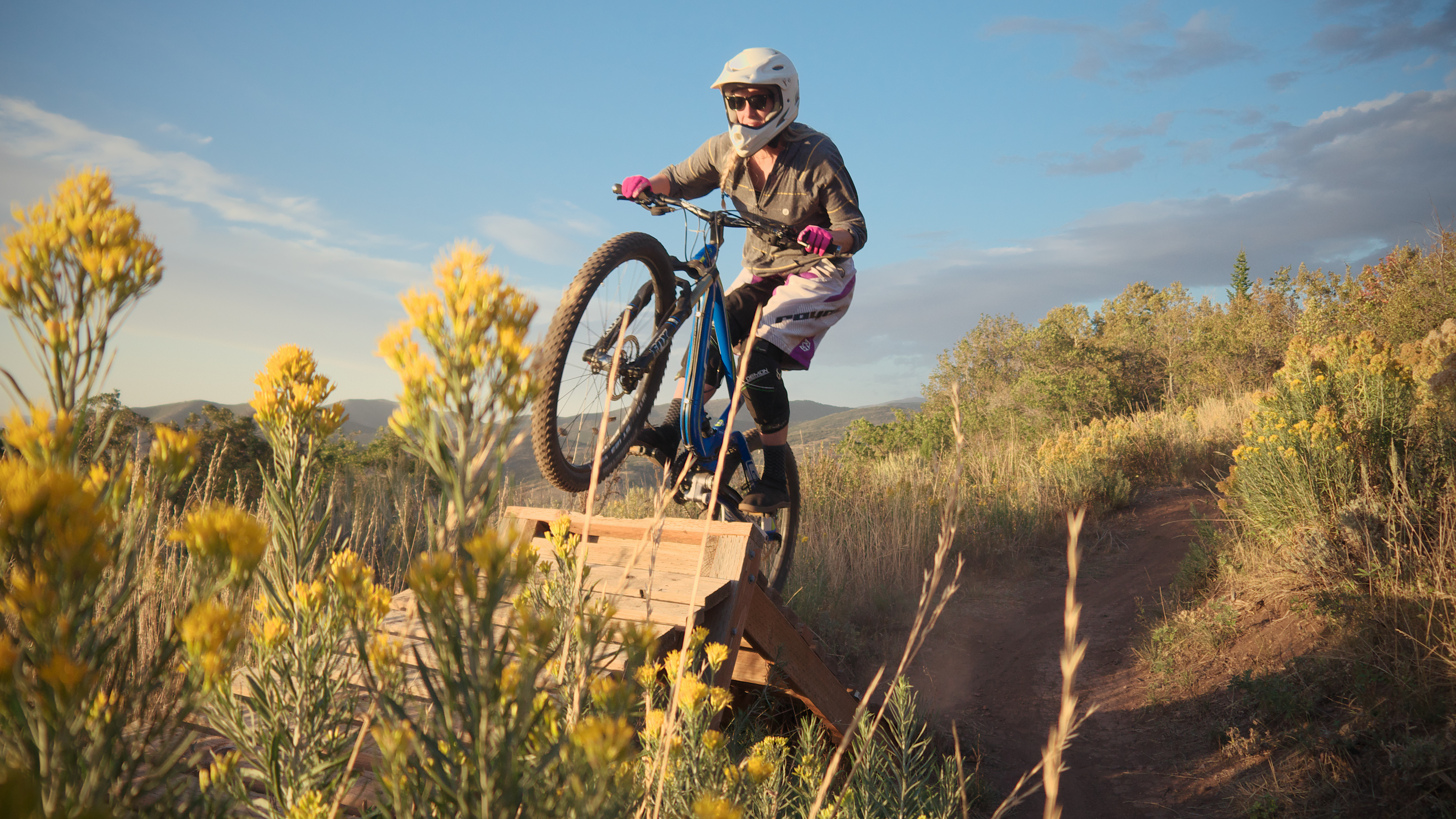 how to build mountain bike trail features