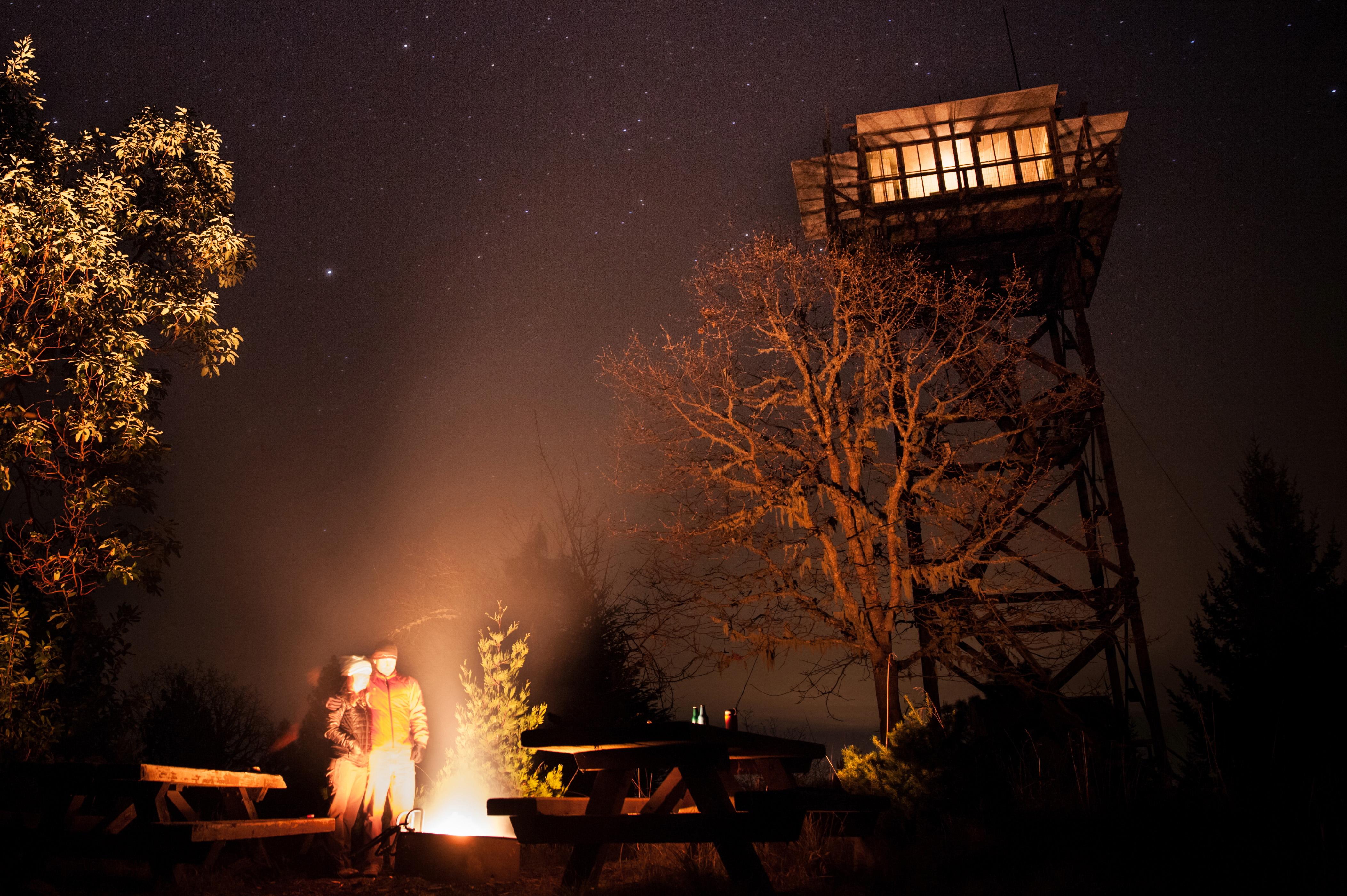 Pickett Butte Fire Lookout Umpqua National Forest