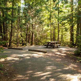 Mona Campground, Willamette Foothills, Outdoor Project