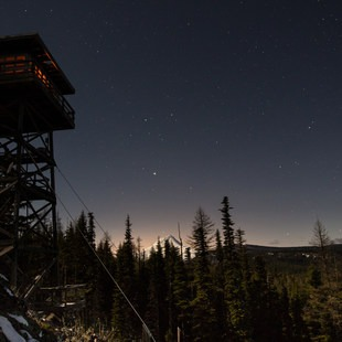 Flag Point Fire Lookout, Oregon, Outdoor Project