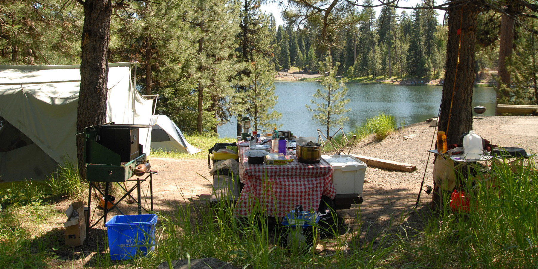 Walton lake campground outdoor project for Camp sites with cabins