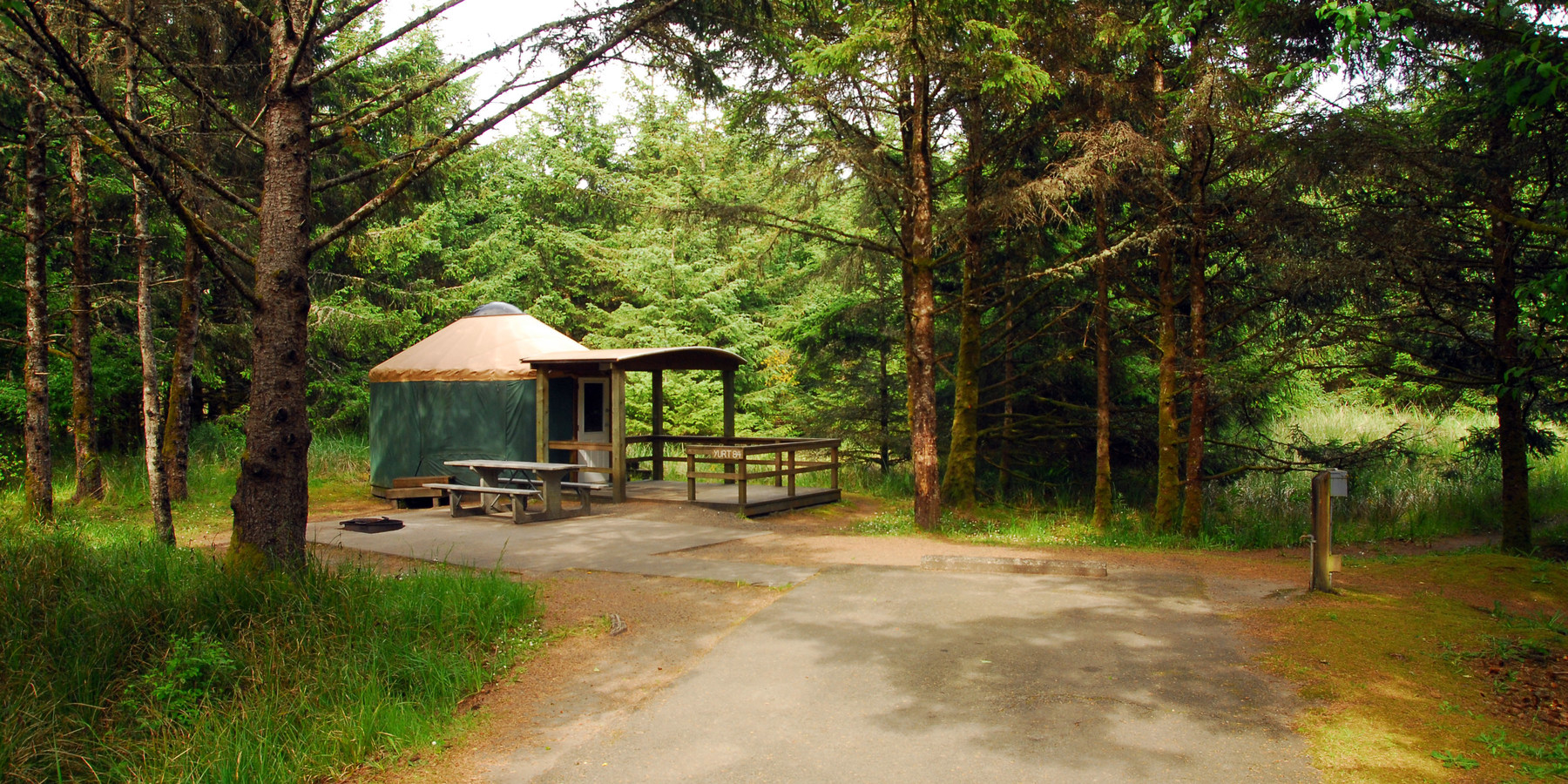 Cape Disappointment Campgrounds A B C Camping In
