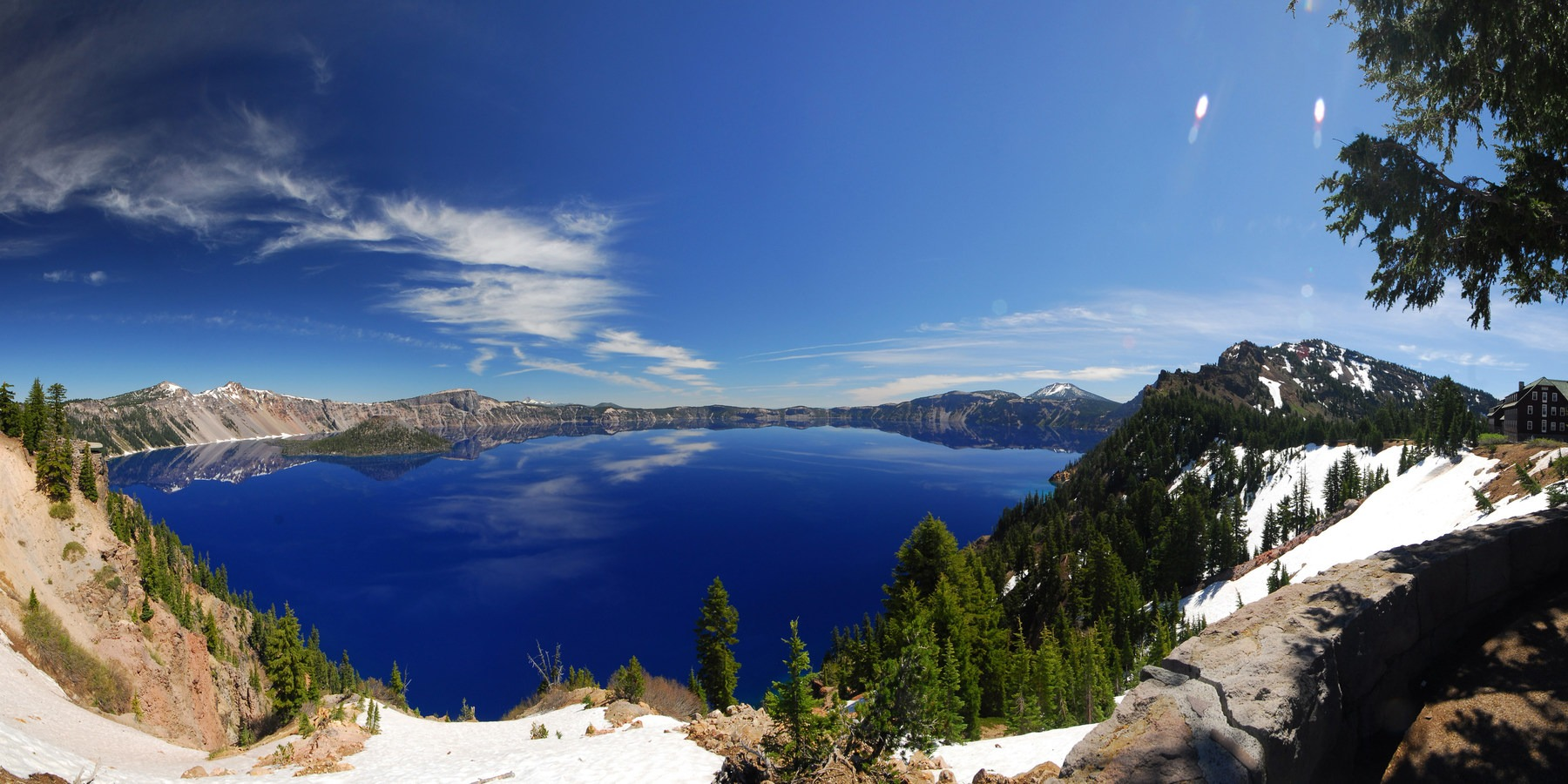 Crater lake lodge outdoor project for 24543 vantage point terrace