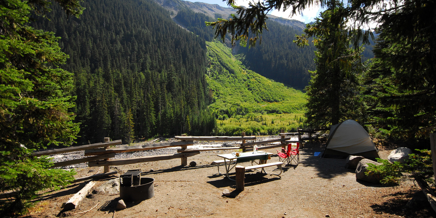 Mount Rainier National Park Outdoor Project