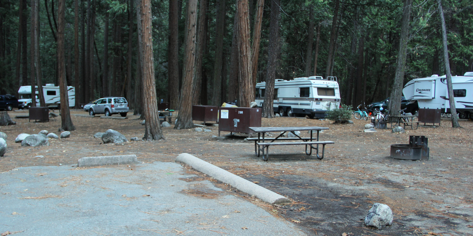 Upper Pines Campground | Outdoor Project