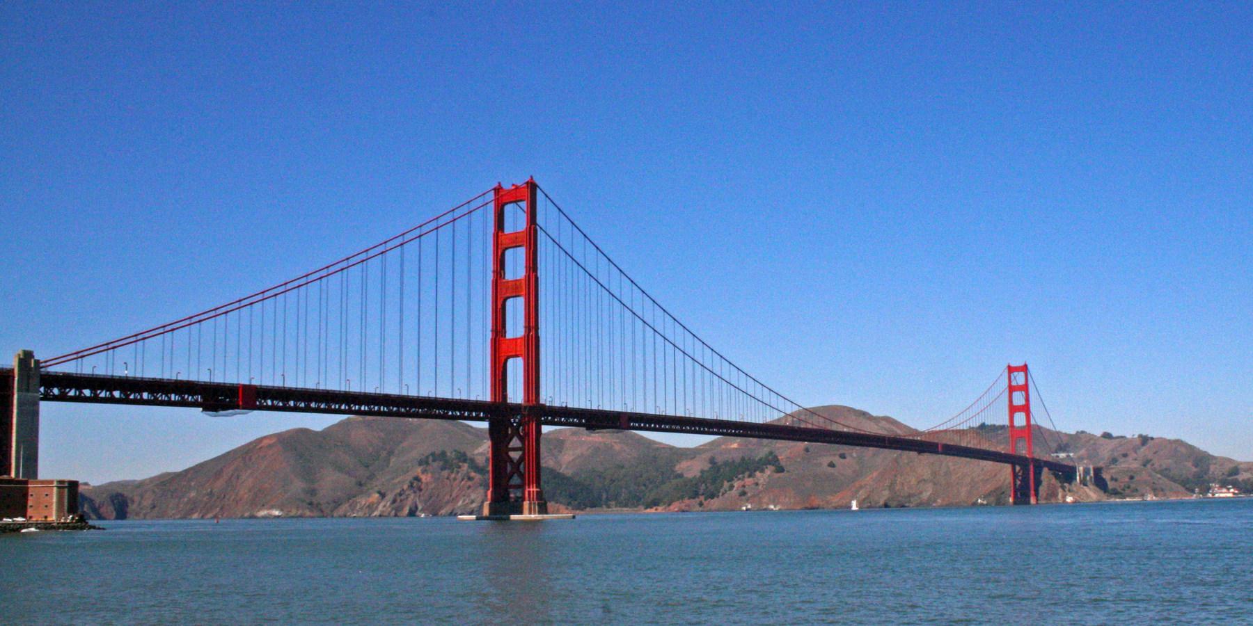 Golden Gate Bridge Fort Point Outdoor Project