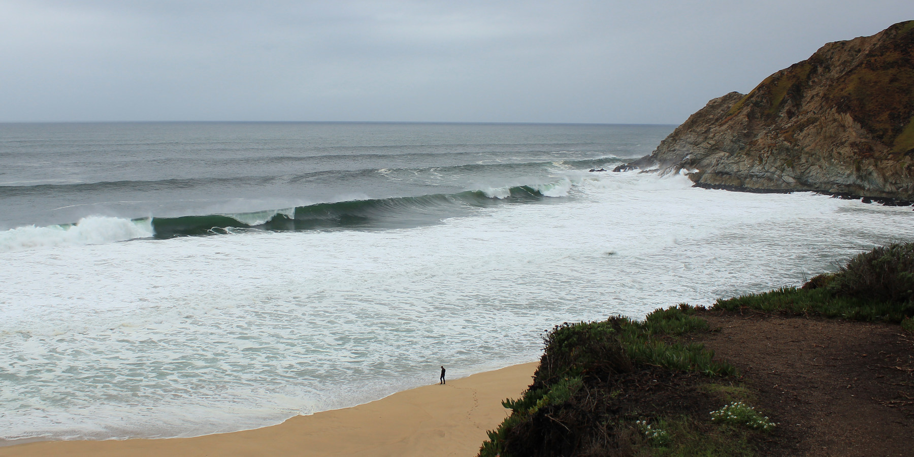 Gray Whale Cove State Beach, Montara, CA - California Beaches