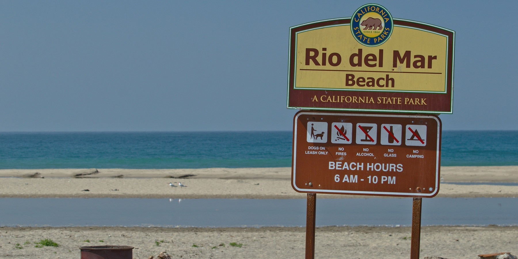 Seacliff State Beach Pets