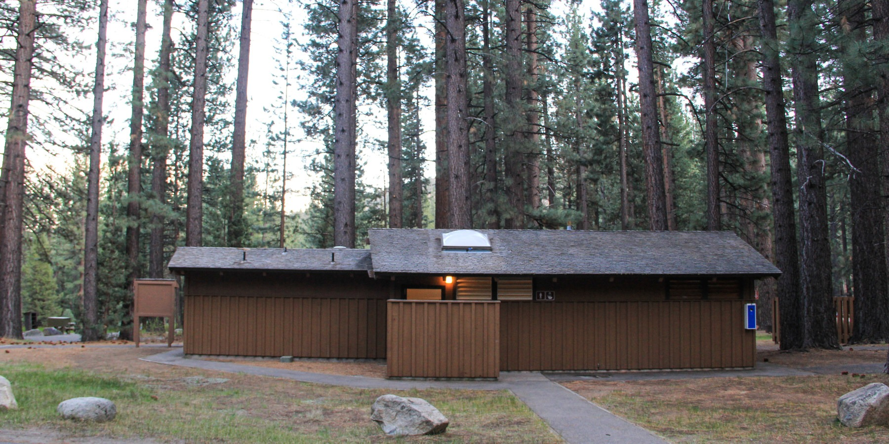 Grover hot springs state park campground outdoor project for Camping grounds with cabins