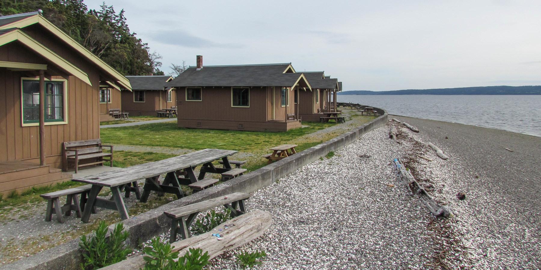 Cama Beach State Park Cabins Lodging In Washington