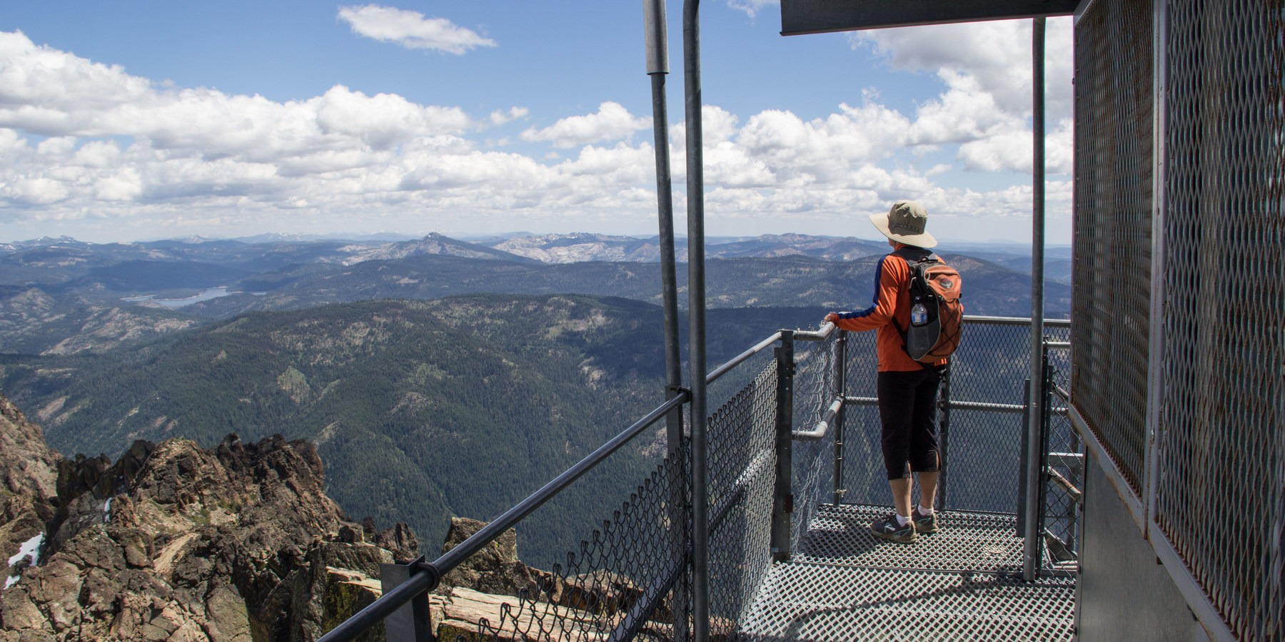 Sierra Buttes Fire Lookout Outdoor Project
