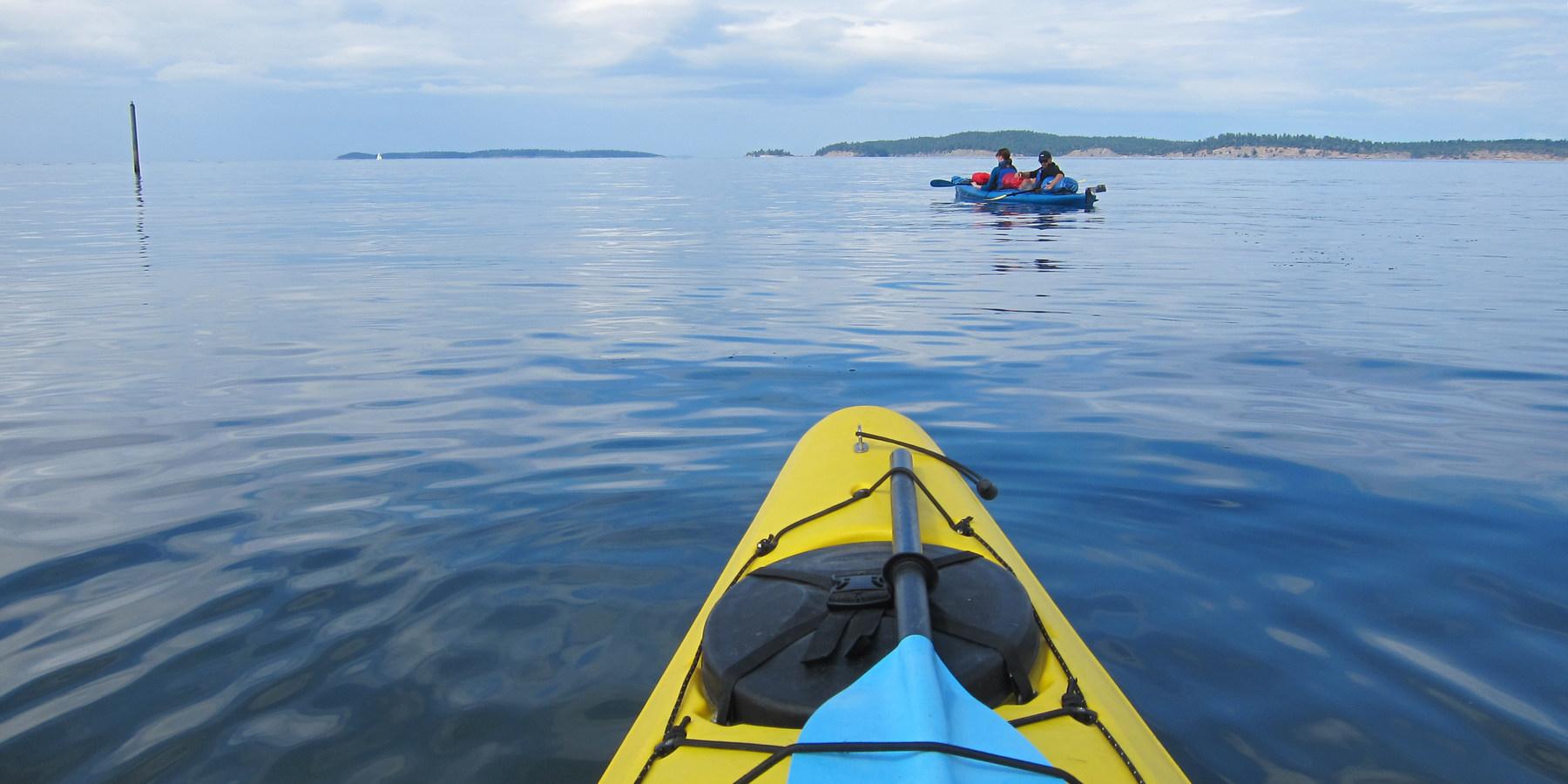 orcas island to sucia island sea kayaking | outdoor project