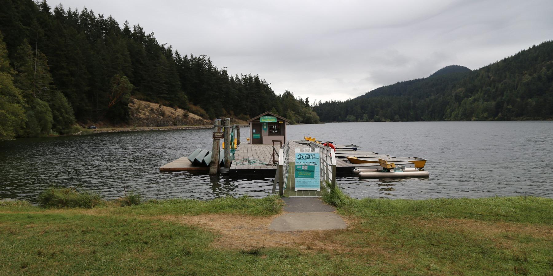 Language In 45 And 47 Stella Street: Orcas Island, Cascade Lake
