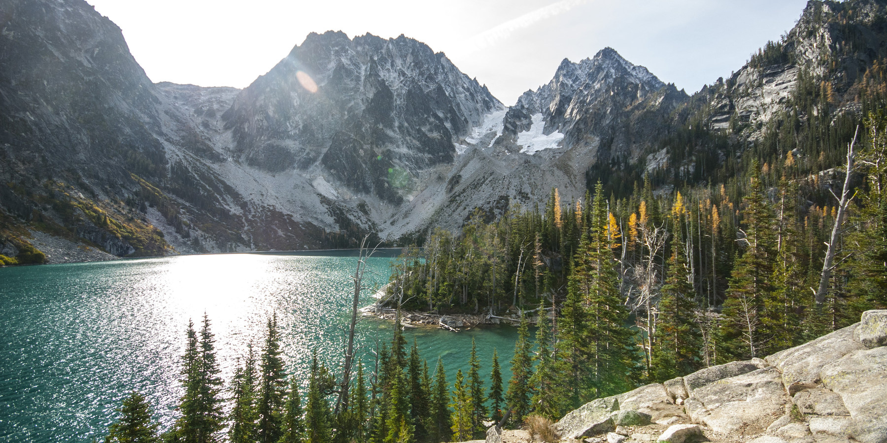 colchuck lake trail - alpine lakes wilderness