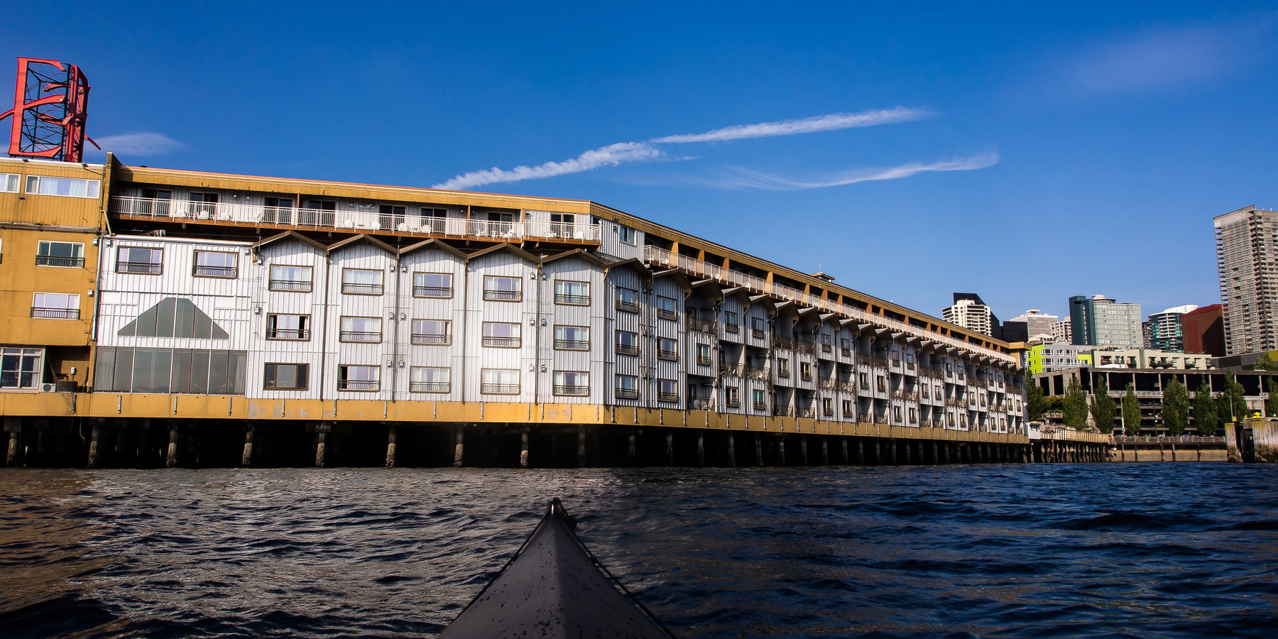 elliott bay sea kayaking outdoor project