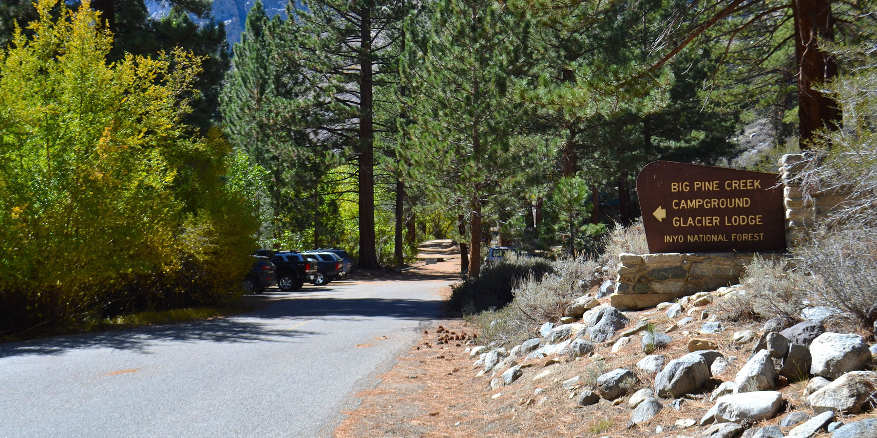 Big Pine Creek Campground Inyo National Forest Camping