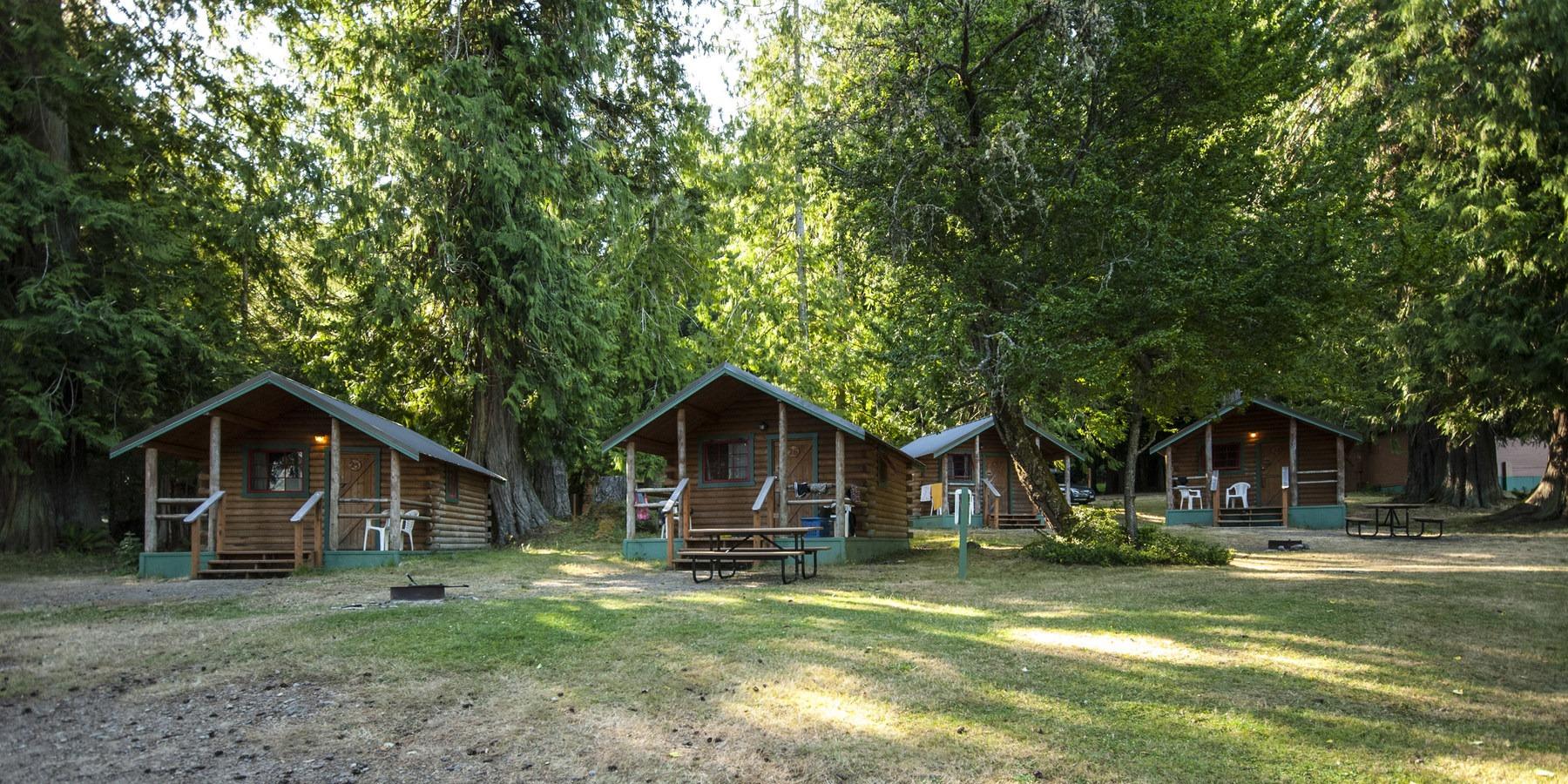 Log Cabin Resort Outdoor Project