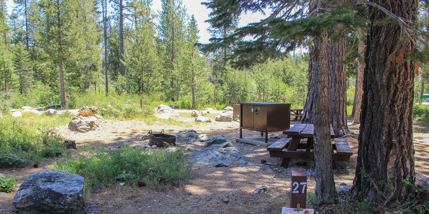 Sardine lake campground outdoor project for Camp sites with cabins