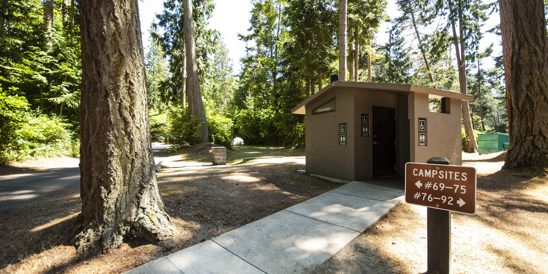 Salt Creek Recreation Area Campground Outdoor Project
