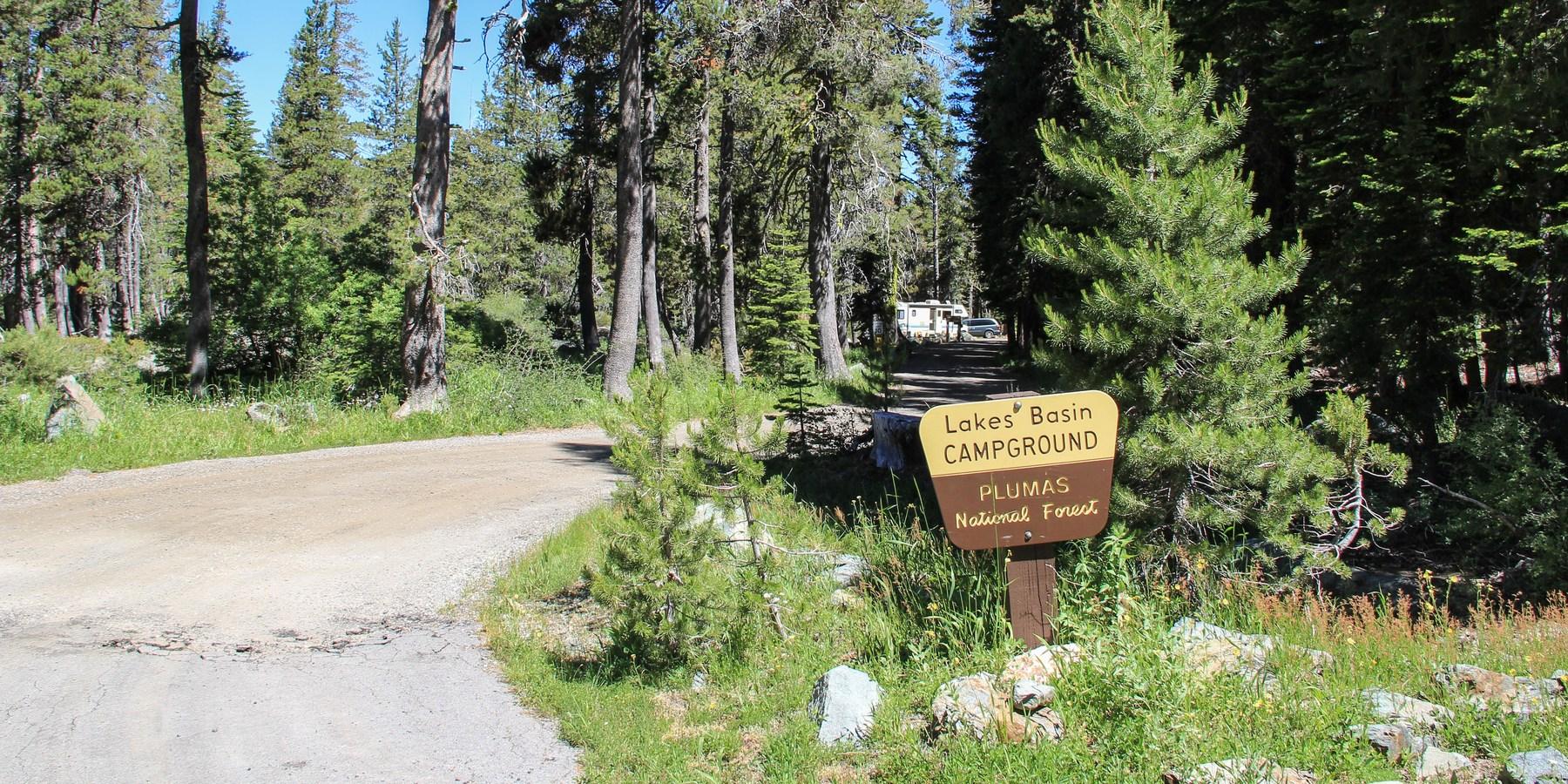 Lakes Basin Campground - camping in California