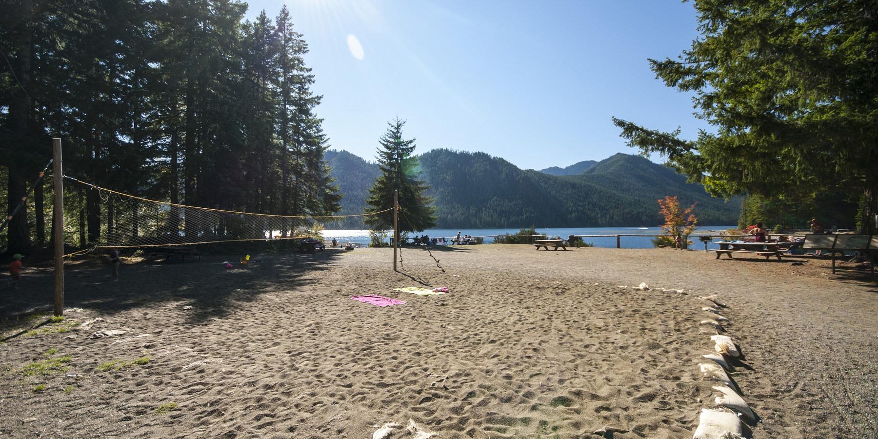 lake cushman skokomish park beach day use area outdoor project
