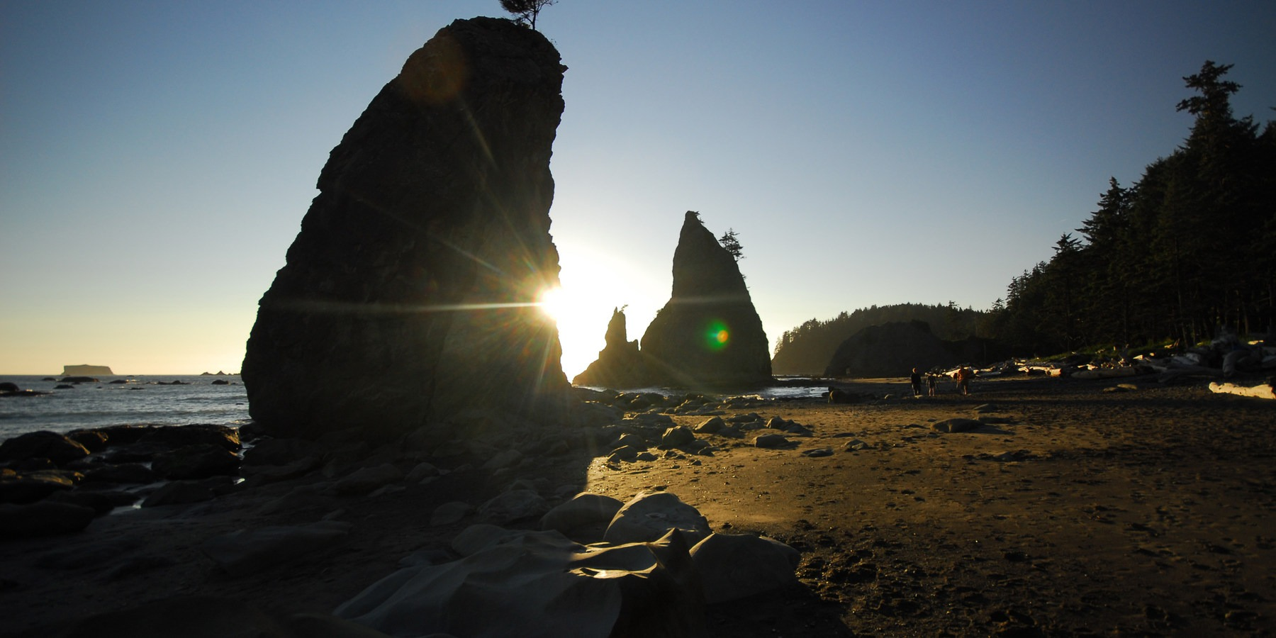 Washington Parks Wilderness Beach Route