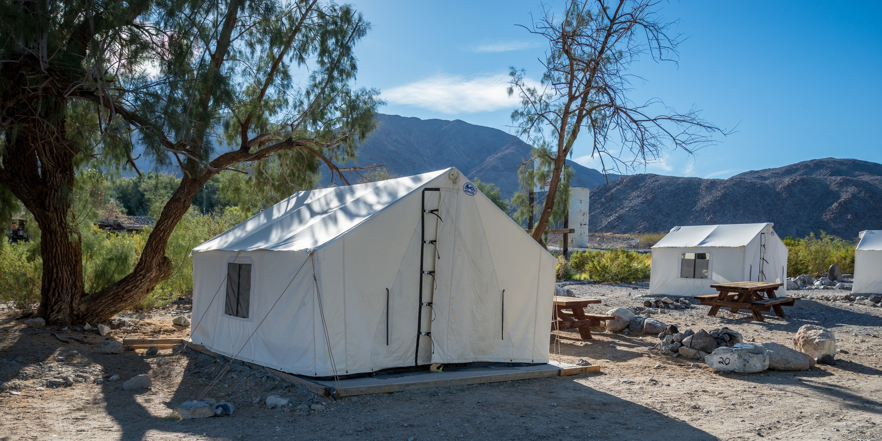 Panamint Springs C&ground; Tent cabins at Panamint Springs.- Panamint Springs C&ground ... & Panamint Springs Campground | Outdoor Project