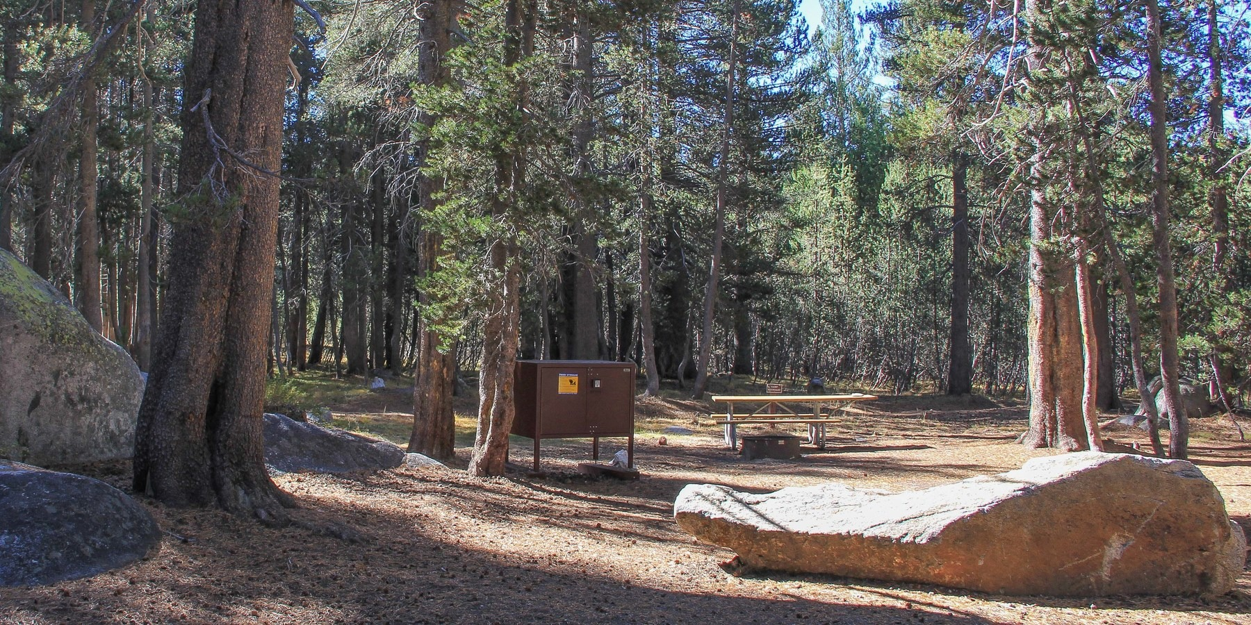 White Wolf Campground Outdoor Project