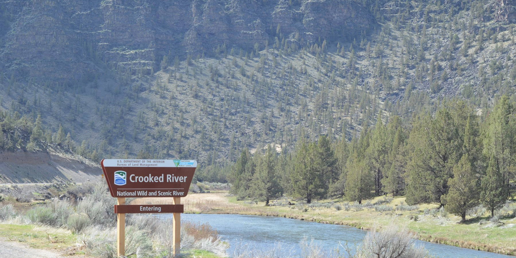 Chimney Rock Campground; The Wild And Scenic Crooked River.