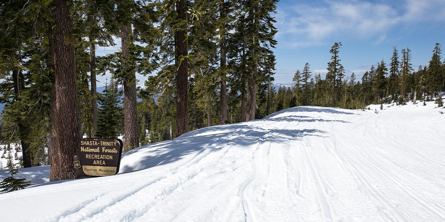 Bunny Flat Snow Shoeing