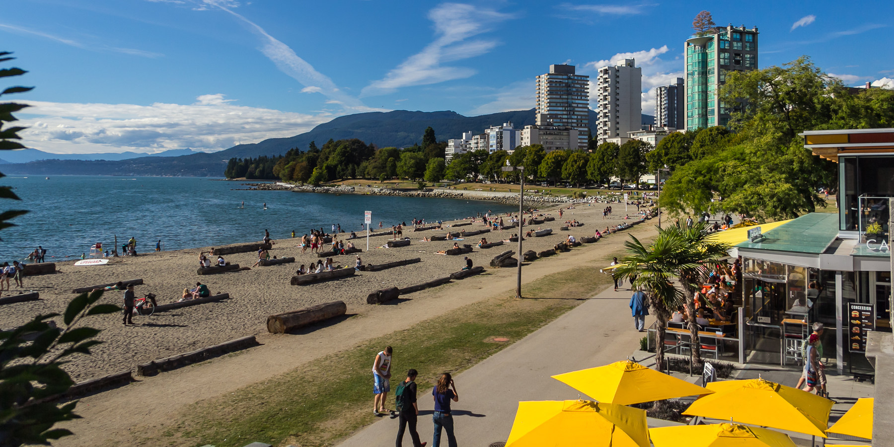 Sunset Beach English Bay Vancouver Beaches In
