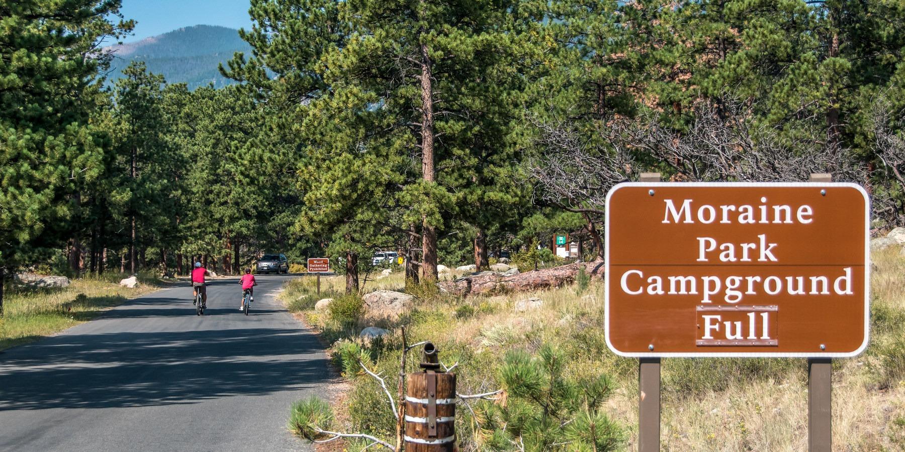 Moraine Park Campground - Rocky Mountain National Park ...