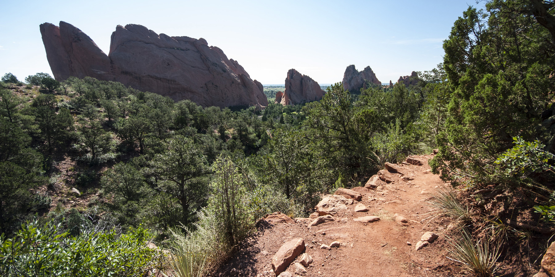 Palmer Trail Garden Of The Gods National Natural Landmark Hiking In Colorado