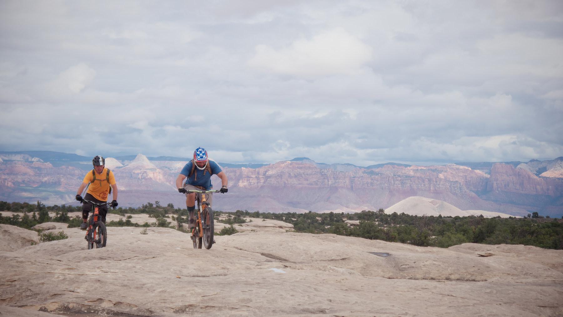 gooseberry mesa mountain biking south rim hidden canyon white