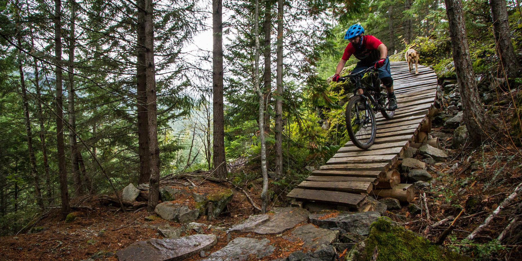 Mountain bike trails around me