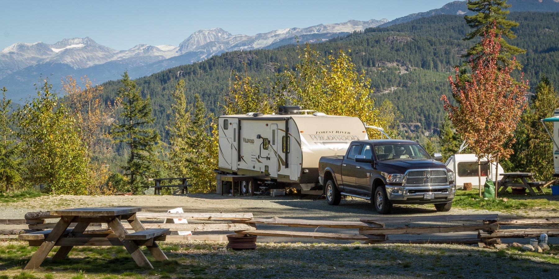 Whistler RV Park Campground