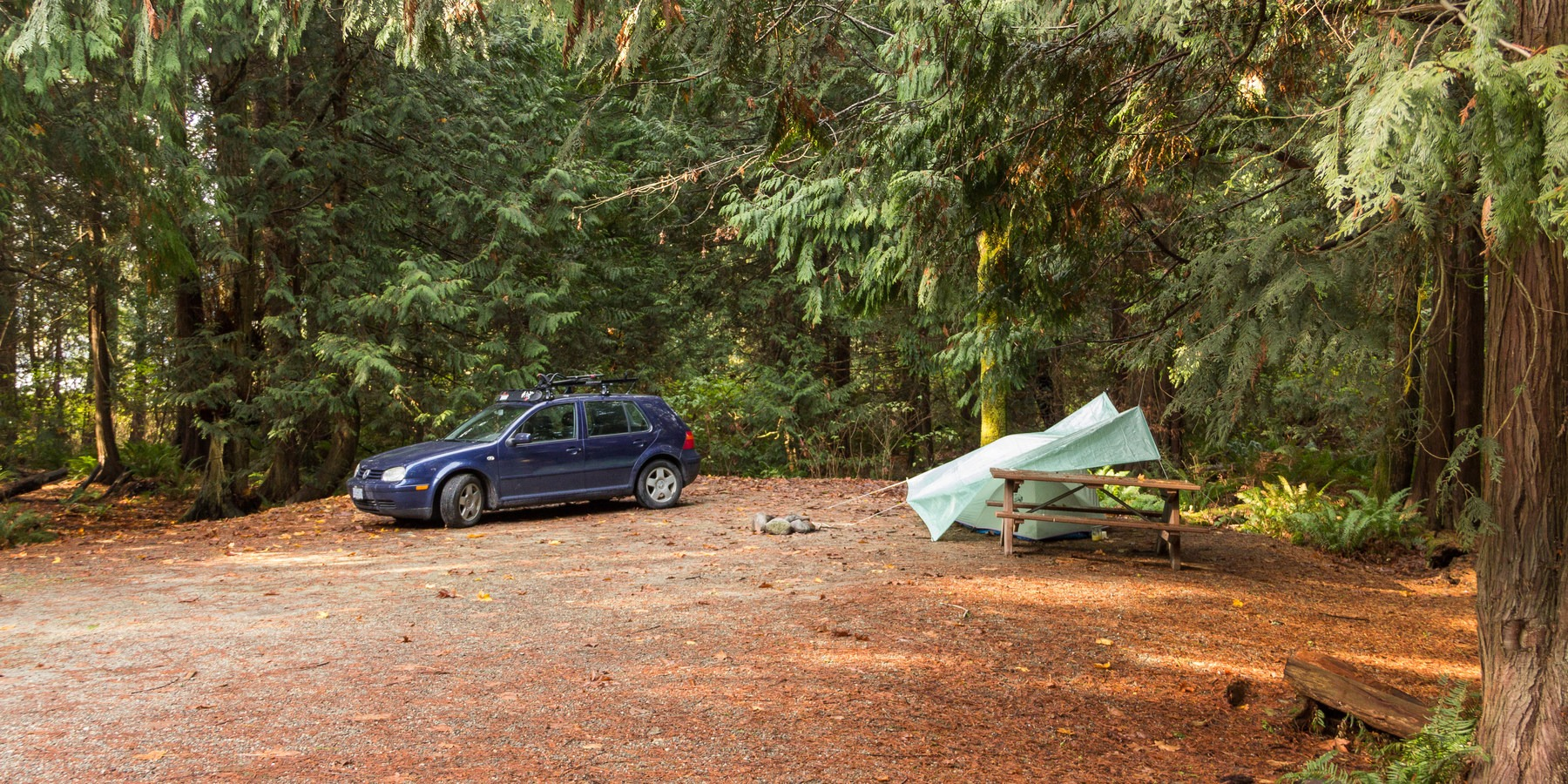 Porpoise Bay Provincial Park Campground Outdoor Project