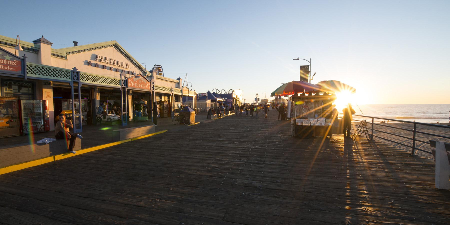 Santa Monica Pier Outdoor Project