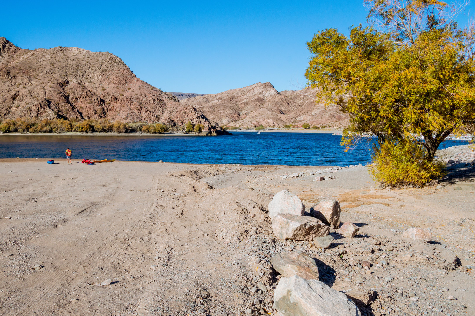 Willow Beach Is The Put In For Paddling Upstream To Hot Springs