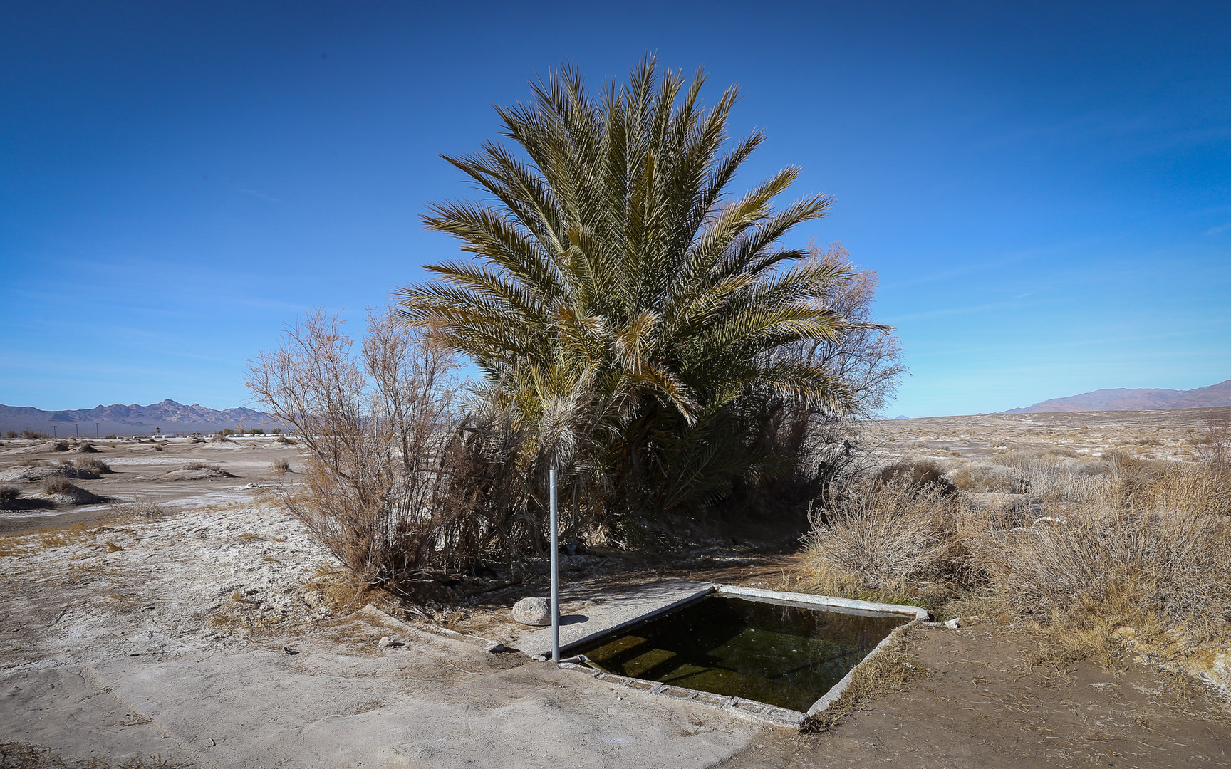 Tecopa Hot Tub - hot springs in California