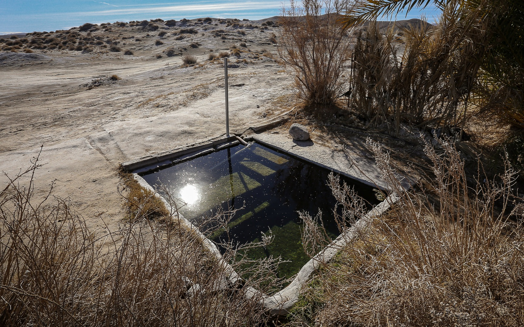 Tecopa Hot Tub - hot springs in California