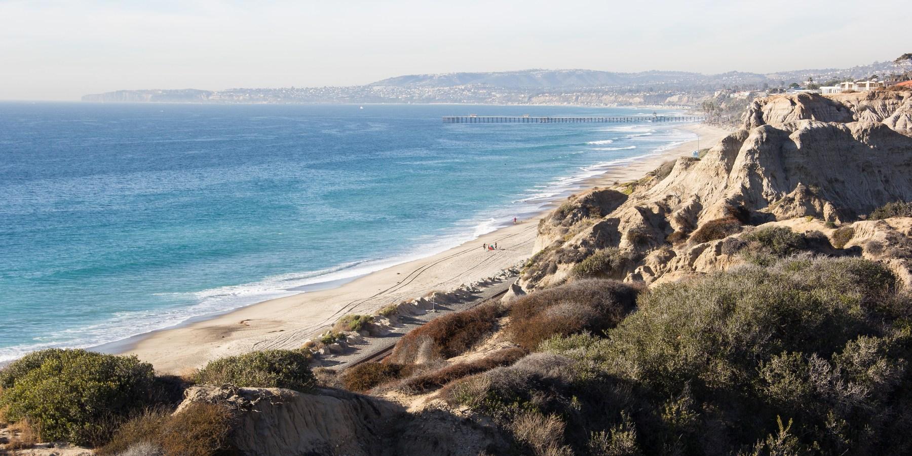 San Clemente State Beach Beaches In California