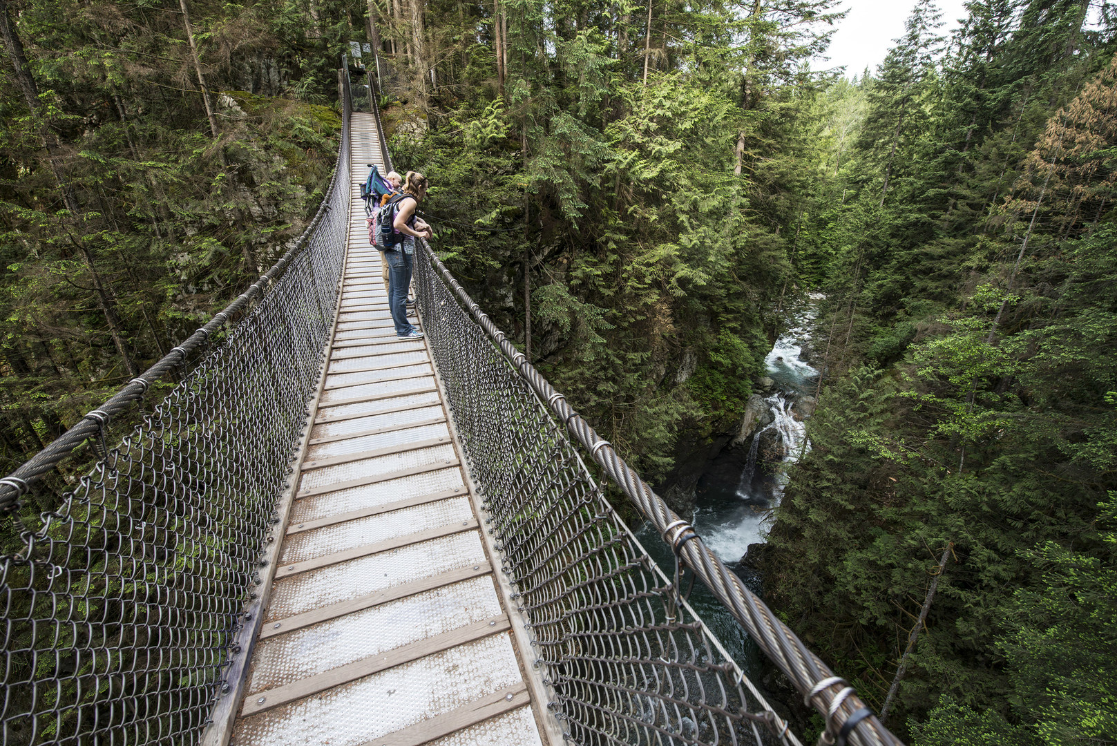 how to get to lynn canyon suspension bridge