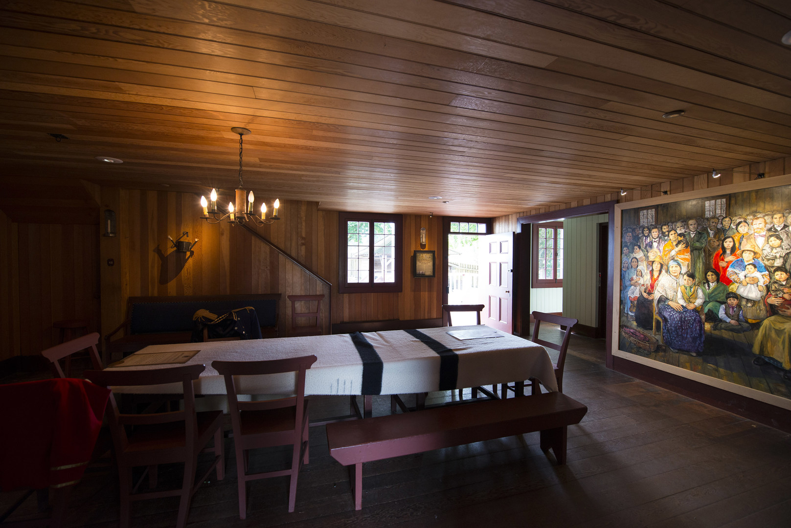Inside The Big House At Fort Langley Home Of Forts Managers